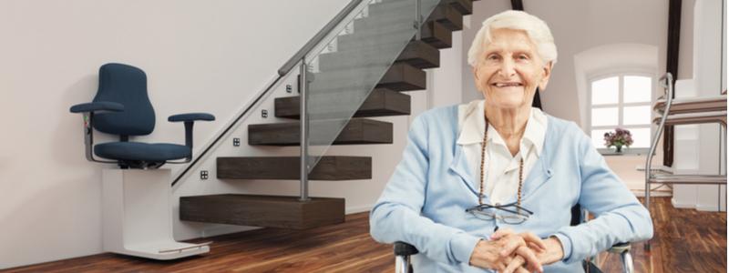 Le monte-escalier Stannah : tout ce qu'il faut savoir