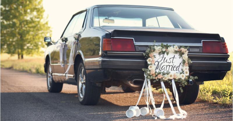 voiture anniversaire de mariage