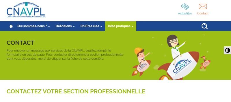 Contacter la CNAVPL