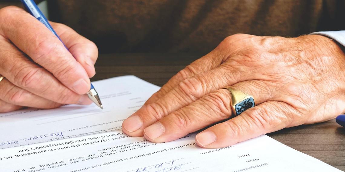Capital décès d'un retraité